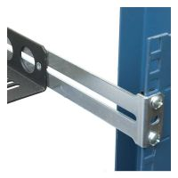 Rear Bracket for Fixed Rack Shelf, 1USHL-108