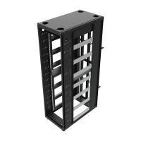 48OU Open Compute Project Open Frame Rack with Rails - Top View