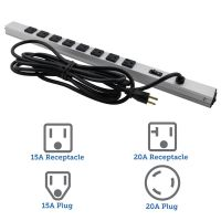 8 Outlet Vertical Rackmount Powerstrip