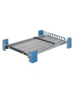 (115-1892) Sliding Equipment Shelf (shallow) with CMA - Front view