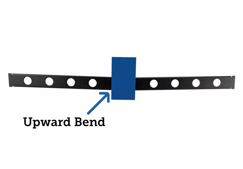 1U Conversion Kit Upward Bend
